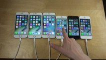 iPhone 7 vs. iPhone 6S vs. iPhone 6 vs. iPhone SE vs. iPhone 5S vs. iPhone 5 - Which Is faster-!
