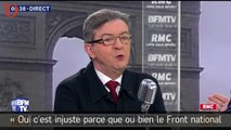 Financement de campagne présidentielle : Mélenchon prend la défense du FN