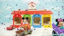 PJ Masks Cars Toys and 타요 꼬마버스 타요 주유소 차고지 세차장 장난감 Tayo the Little Bus Toys мультфильмы про машинки