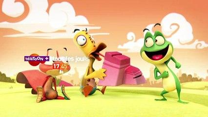 KAELOO - la seule grenouille qui ne se transforme pas en prince charmant sur TéléTOON+ ! :)