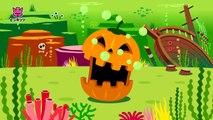 Halloween Sharks _ ハロウィン シャーク _ サメの家族 _ Halloween Songs _ ハロウィンソング _ ピンキッツ英語童謡-POMbhLCofhg