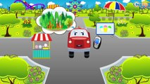 The Yellow Tow Truck & The Fire Truck | Emergency Vehicles | Cars & Trucks cartoons for kids