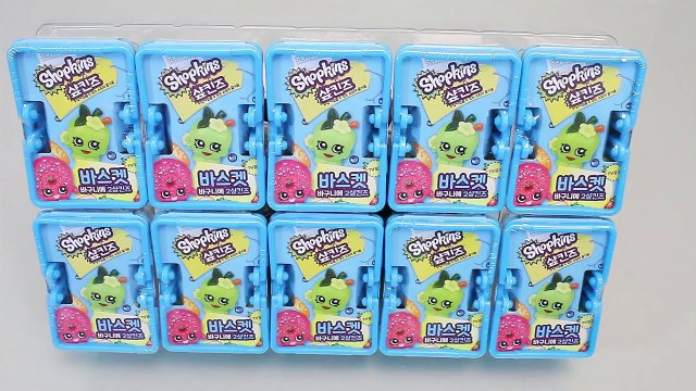 Shopkins Blind Baskets Toys 샾킨즈 바구니 랜덤 캐릭터와 뽀로로 타요 폴리 장난감 YouTube