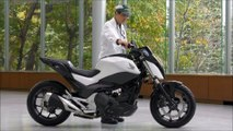 Honda Rider Assist - Perfect Self balancing Motorcycle