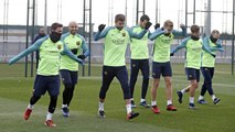 FC Barcelona training session: Recovery training session ahead of Copa del Rey