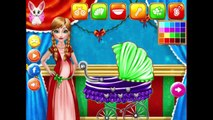 Frozen Elsa Anna and Rapunzel Baby Birth Surgery Doctor - Elsa and Anna games for kids
