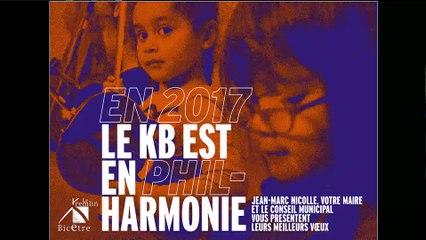 La présentation des voeux de Jean-Marc Nicolle aux Kremlinois pour 2017