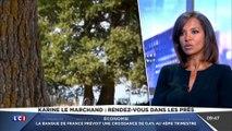 LCI La Médiasphère Karine le Marchand évoque le suicide de jean Pierre