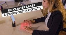 Ce clavier à projection laser est si petit qu'il rentre dans votre poche !