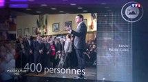 Seulement 400 personnes pour le meeting de Manuel Valls - ZAPPING ACTU DU 09/01/2017