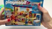 Playmobil Summer Fun Ice Cream Parlor Playset + Peppa Pig Ice Creams Play Doh Ice Creams