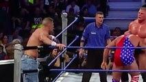 John Cena & Brock Lesner vs Undertaker & Kurt Angle Full Match SmackDown - YouTube