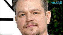 Matt Damon Mourns The Loss Of Robin Williams At Golden Globes
