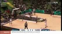Basketball (Champions League) : Asvel vs Oldenbourg (76 -69)
