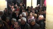 Manosque : Le théâtre Jean le Bleu fait salle comble à l'occasion des voeux du maire Bernard Jeanmet-Péralta