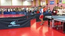 Ping pong  Tentative de record de monde à Forbach.MOV