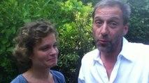 Sarah Biasini et Fabio Zenoni evoquent la piece ' Ring...