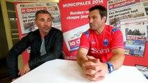 FCG/GF38 : la rencontre Landreau/Saragaglia avant les 2 derniers matches de la...
