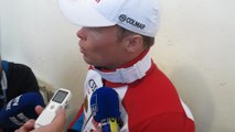 Video: la reaction d'Alexis Pinturault apres son...