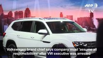 VW looking to regain customer trust after emissions scandal