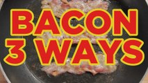 Bacon 3 Ways! Cheesy Bacon Bombs, Bacon Onion Rings & Triple Bacon-Wrapped Hot Dogs - Full Recipes