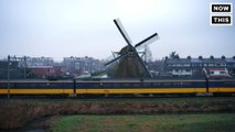Dutch trains are 100% wind-powered