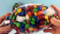 3 BIG M&Ms Candy Surprise Eggs Iron Man Finding Dory Shopkins Frozen The Good Dinosaur Chocolate Egg