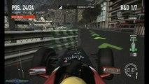 F1 2010 - #27 S1 R6 Monaco Monte Carlo practice
