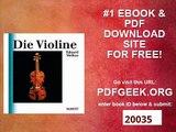 Die Violine Eine Einführung in die Geschichte der Violine und des Violinspiels (Unsere Musikinstrumente)