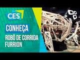O robô de corrida da Furrion Robotics - CES 2017 - TecMundo