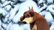 Masha y el Oso - Rastreadora de Animales Desconocidos (¿Y quien pasó por aquí)-S24WTdbuoas