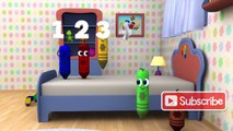 Five Little Monkeys - 3D Nursery Rhymes _ Color Crew 3-D Animation _ 3D Rhymes for Kids _ BabyFirst-H4FmKdS0kqY