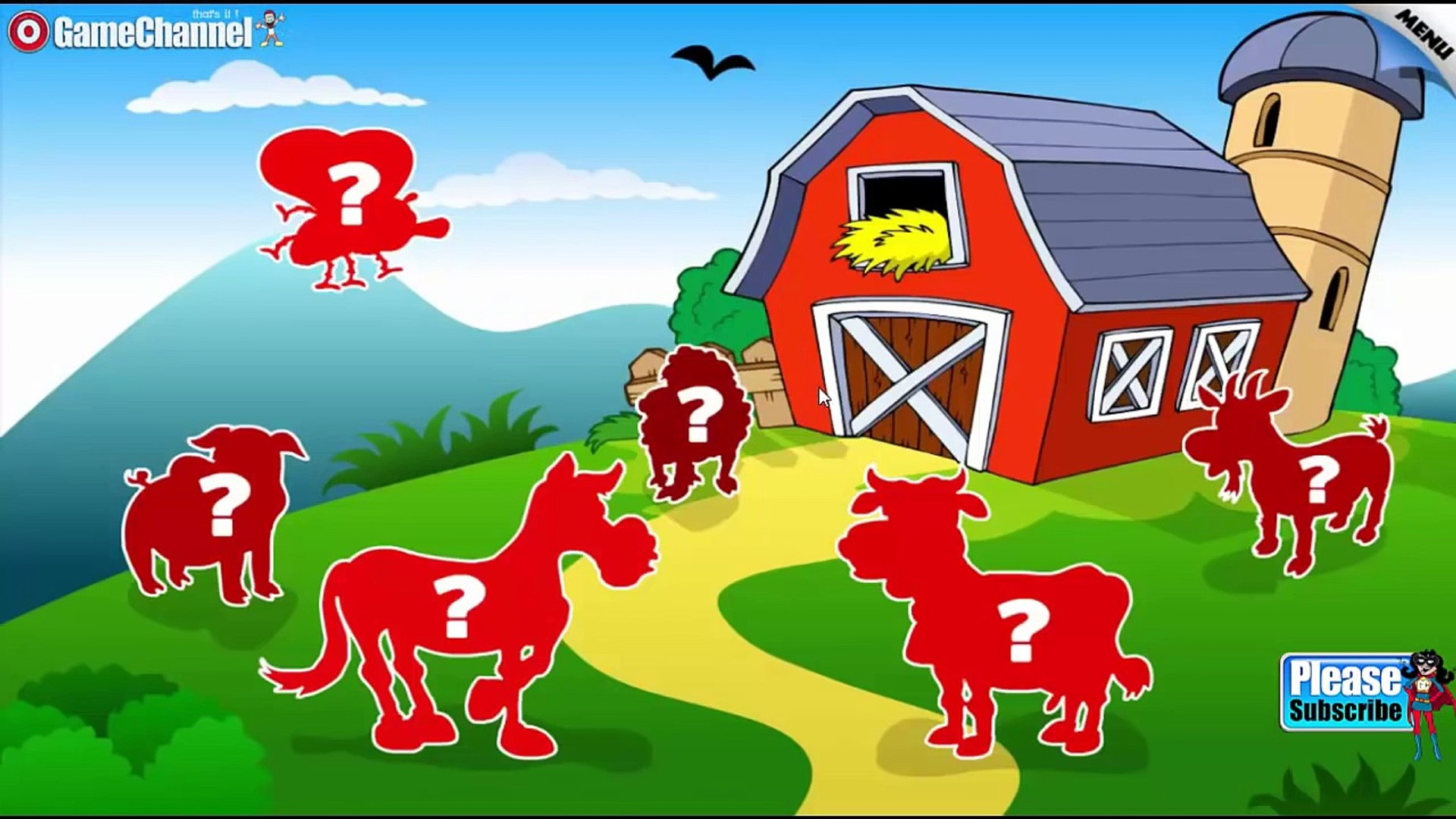 Kids Animal Word Puzzles 'CFC s.r.o. Education Games' Android Gameplay Video