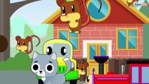 Learn with the Train: Cartoon about Cars & Trains - Learn Numbers & Shapes - Trains cartoons