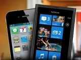 Nokia Lumia vs iPhone 4 (Design)