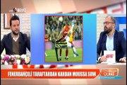Fenerbahçeli taraftardan kardan Moussa Sow