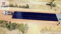 Une route de 5km construite en seulement deux jours (Australie)