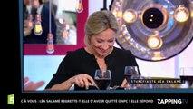C à vous : Léa Salamé regrette-t-elle d'avoir quitté ONPC ? Elle répond