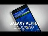 Samsung Galaxy Alpha Unboxing