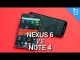 Nexus 6 vs Note 4: Two Titans, One Winner