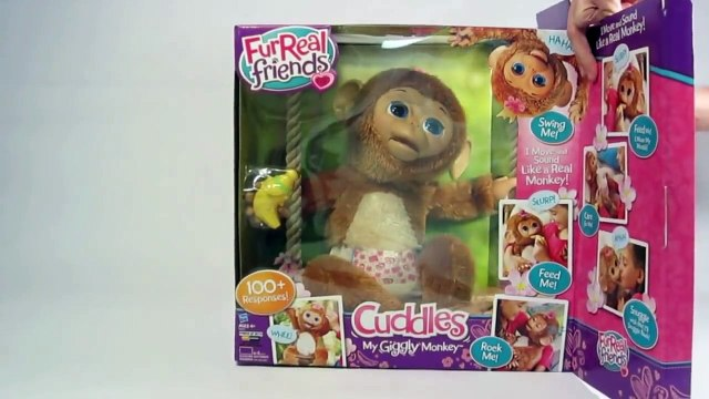 Furreal Friends Cuddles My Giggly Monkey Pe