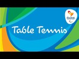 Rio 2016 Paralympic Games | Table Tennis Day 1