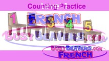 """""""Counting Practice"""" (French Lesson 07) CLIP – Easy Français Numbers, Count 123, numéros, compter-cfSunMSxu74"""