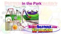 """In the Park"" (Spanish Lesson 09) CLIP – En el Parque, Spanish Sports, Español deporte, Football-bh0zvG4eoz0"