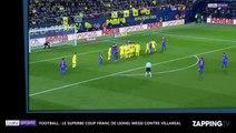 Lionel Messi marque un coup franc somptueux et sauve le FC Barcelone (déo)