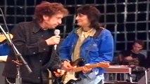 Bob Dylan - Leopard Skin Pill Box Hat - Hyde Park - London, England  June 29, 1996
