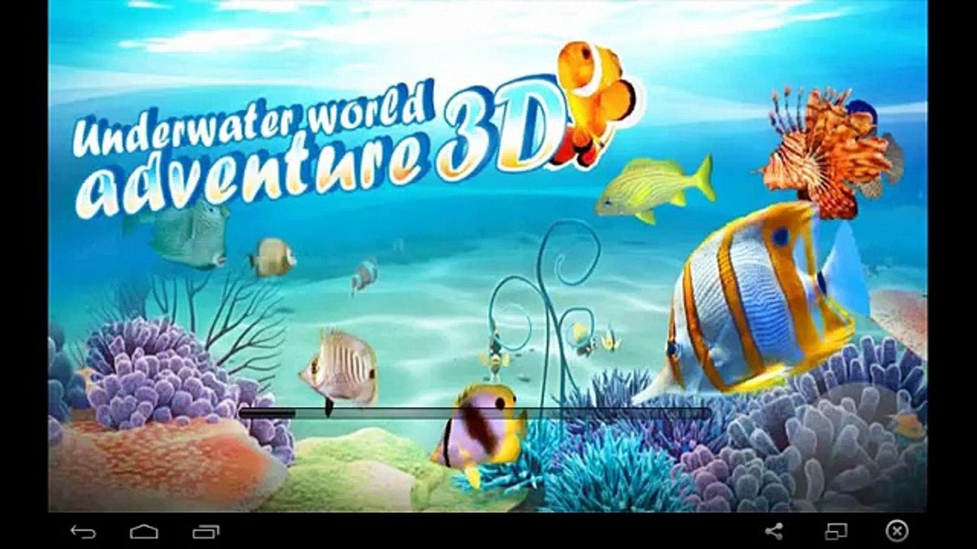 Подводный мир приключений 3D / The underwater world of adventure 3D - for Android GamePlay