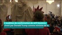 Etats-Unis : l'audition du ministre de la Justice de Trump perturbée par des manifestants antiracistes