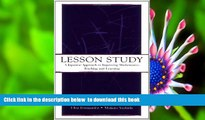 PDF  Lesson Study: A Japanese Approach To Improving Mathematics Teaching and Learning (Studies in