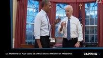 Barack Obama fait ses adieux : les moments les plus cool de ses mandats (vidéo)